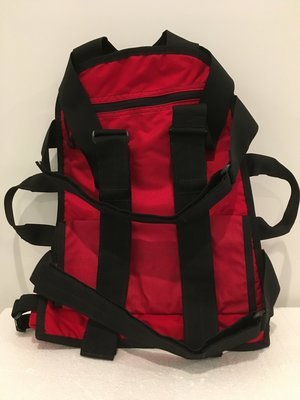 Mantis Backpack System Red and Black