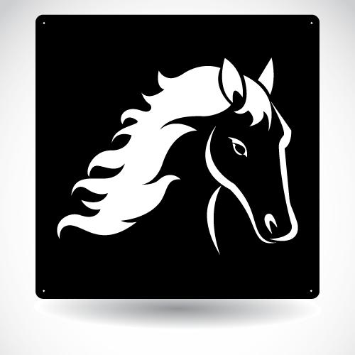 Horse Head Panel SB-A-002
