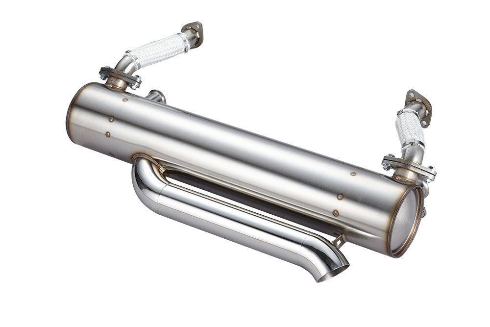CLASSIC SUPER FLOW EXTREME LOWERED VW BAYWINDOW BUS EXHAUST SYSTEM