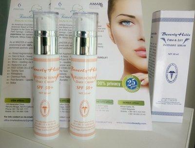 Multifunctional daily antisolar cream