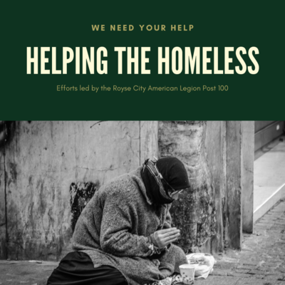 $20 AL Homeless Committee Donation