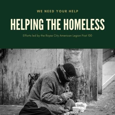 $50 Homeless Initiative Donation