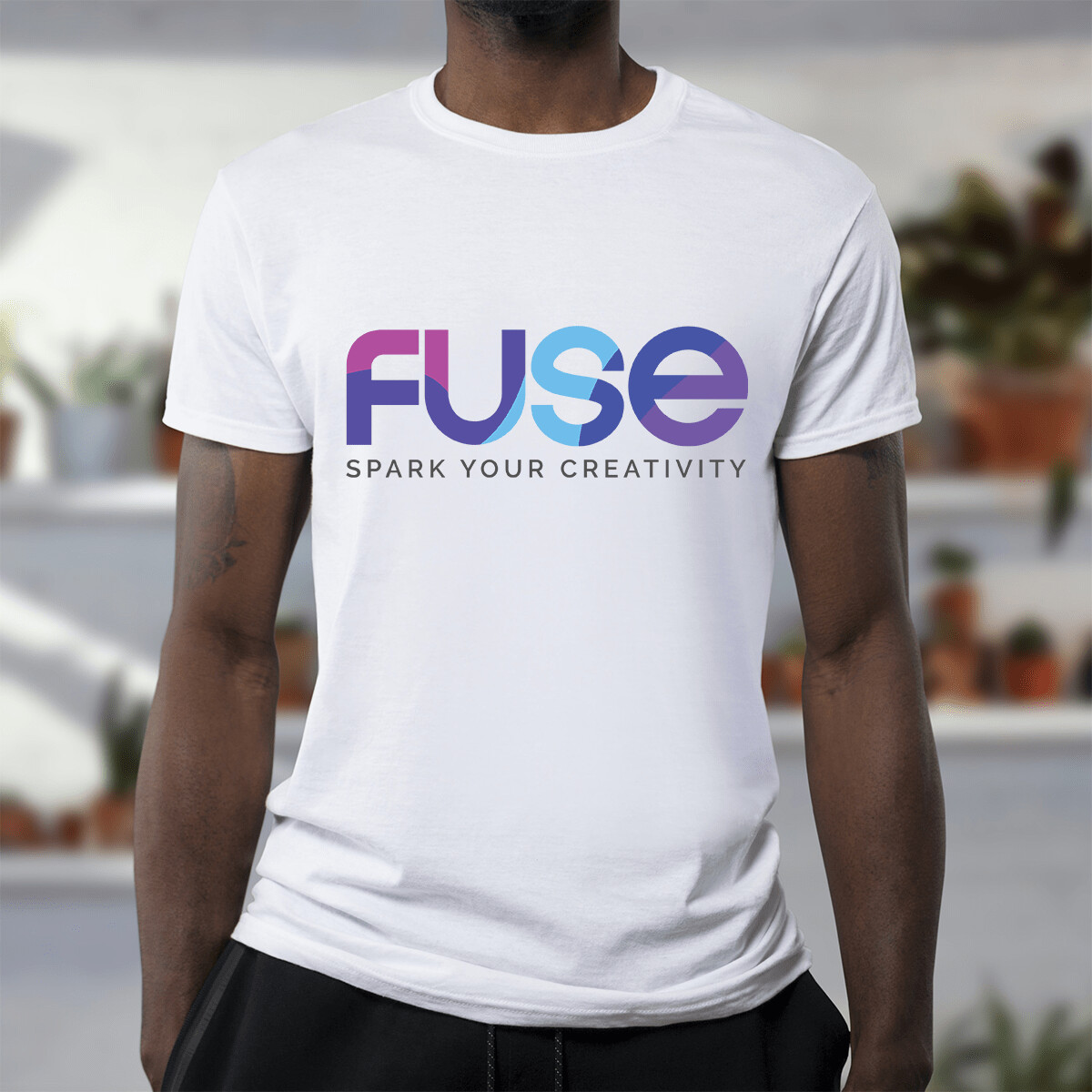 Fuse CREW-neck tee