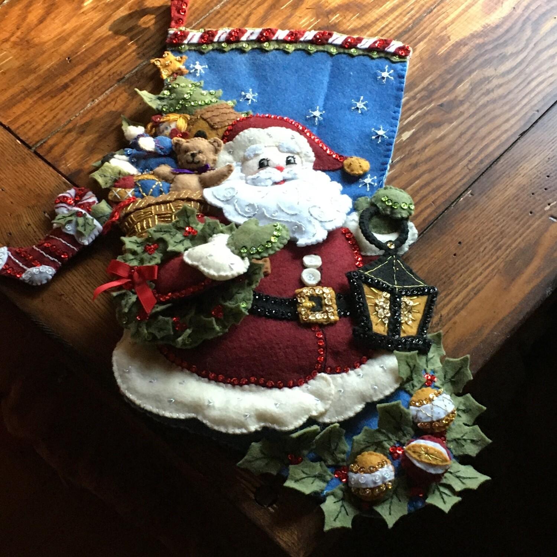 Christmas Stocking Santa