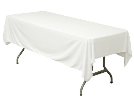 """Banquet Table White 52"""" x 114"""""""