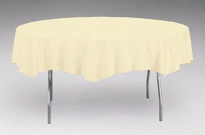 Round Banquet Table White 85