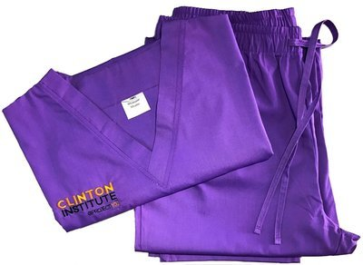 Clinton Institute @ PROJECT [YOU] Unisex Scrubs