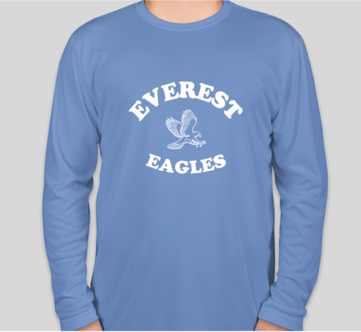PE Shirt long sleeves (for Middle School Girls)