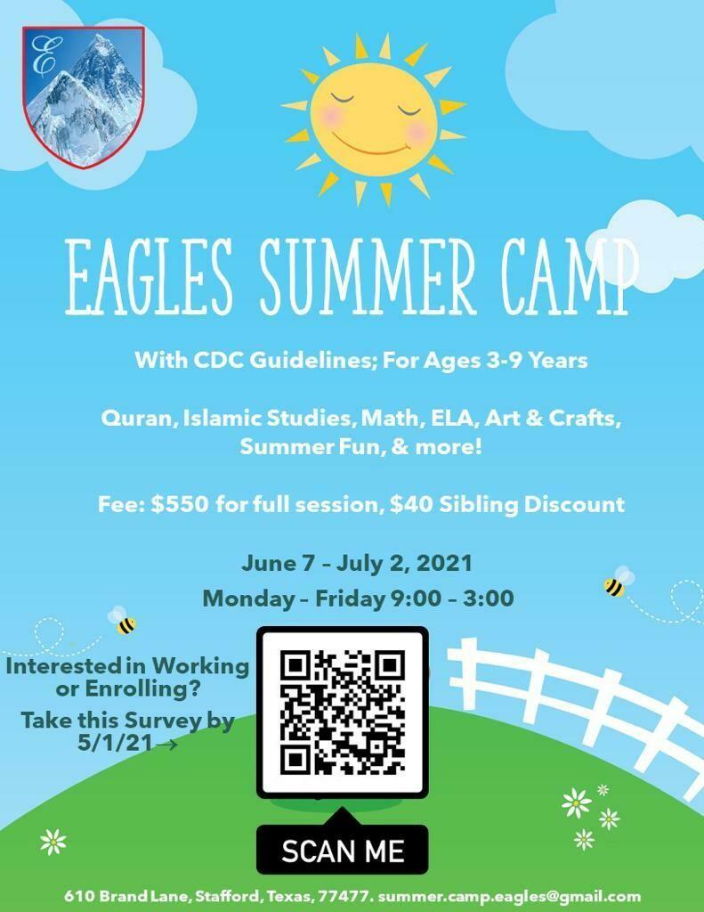 2021 Summer Camp Fee