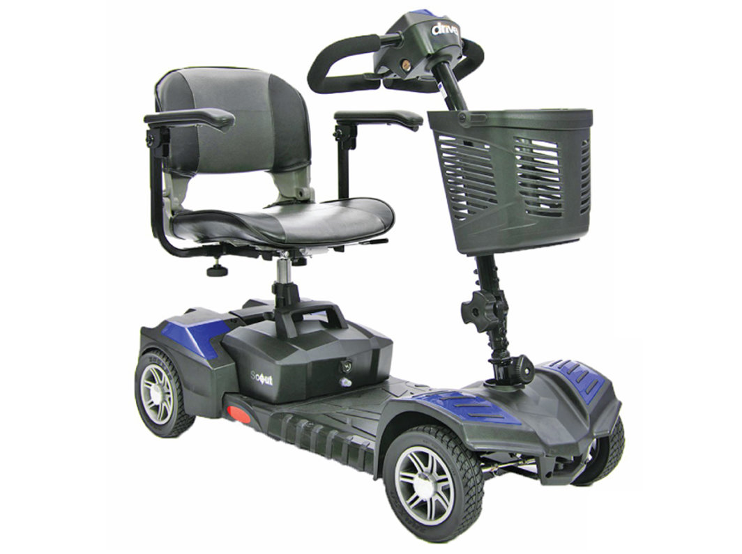 Scooter Drive Spitfire Scout 4 DLX, 4 Wheels No Taxes & Free Shipping in Canada