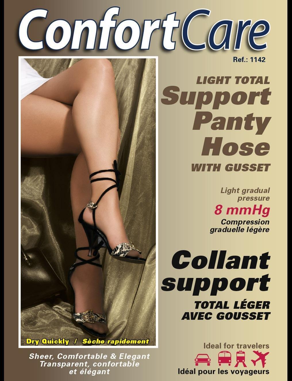 Elastic Support Panty Hose (8-10 mmHg) Light