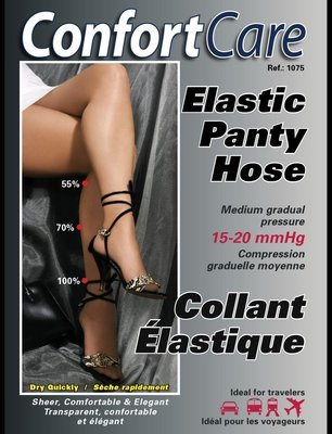 Support Elastic Panty Hose-Graduel Compression (15-20 mmHg)