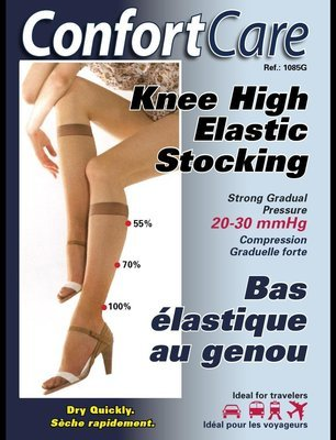 Knee High Elastic Stoking high compression (20-30 mmHg)