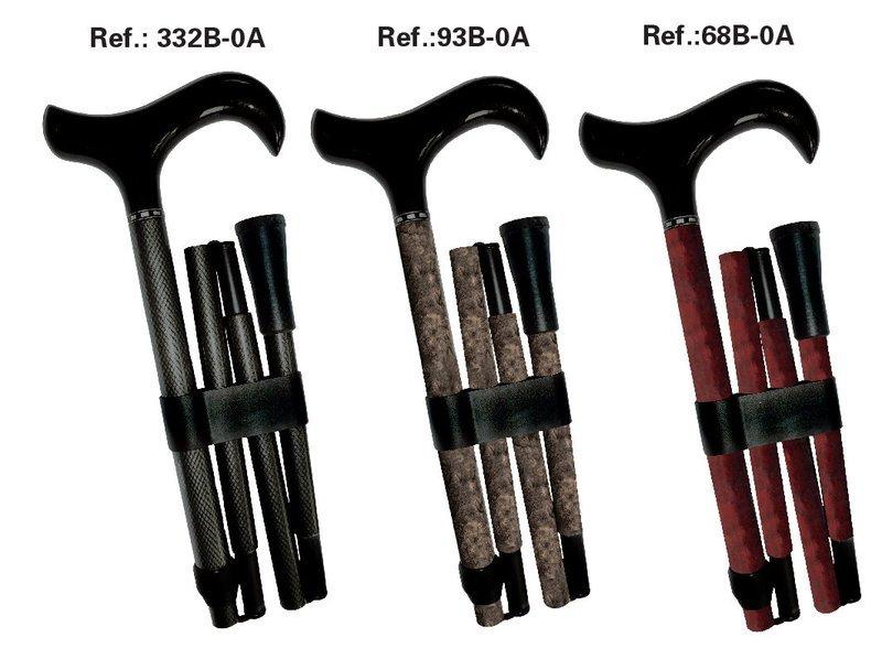Carbon Cane 5pcs foldable Anti-Chock  for men & Women.