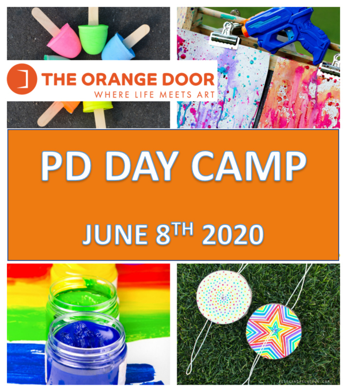 P.D Day  June 8, 2020  8:30-5:00 J.K- Gr.4