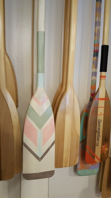 HAND PAINTED PADDLES - LARGE