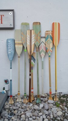 HAND PAINTED PADDLES - MEDIUM