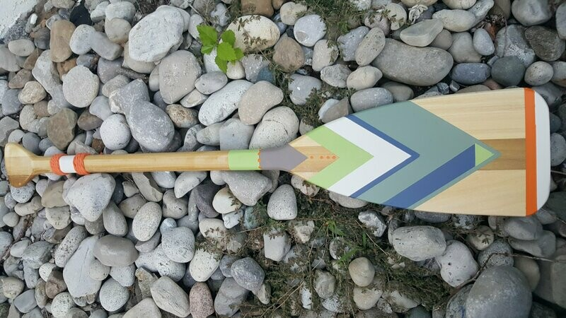 HAND PAINTED PADDLE - SMALL