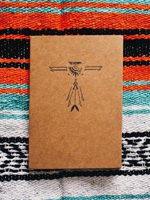hand stamped phoenix journal