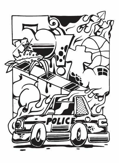 Print - Police by GRTS   2020 Collection