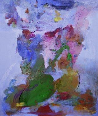 Oil on canvas - 120 x100 cm