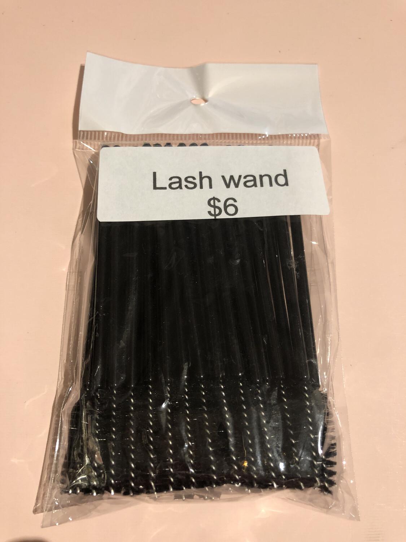 50pcs Disposable Mascara Wands Makeup Brushes Eyelash Eye Lash Brush Make Up Applicators Kit (black )