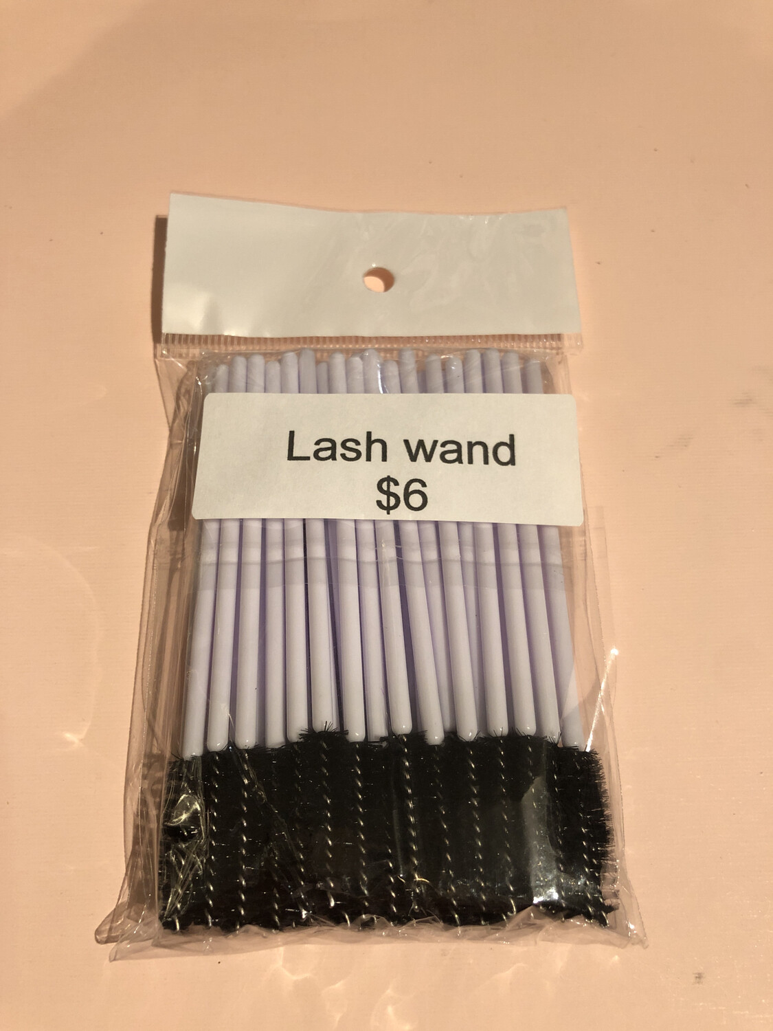 50pcs Disposable Mascara Wands Makeup Brushes Eyelash Eye Lash Brush Make Up Applicators Kit (black And White  )