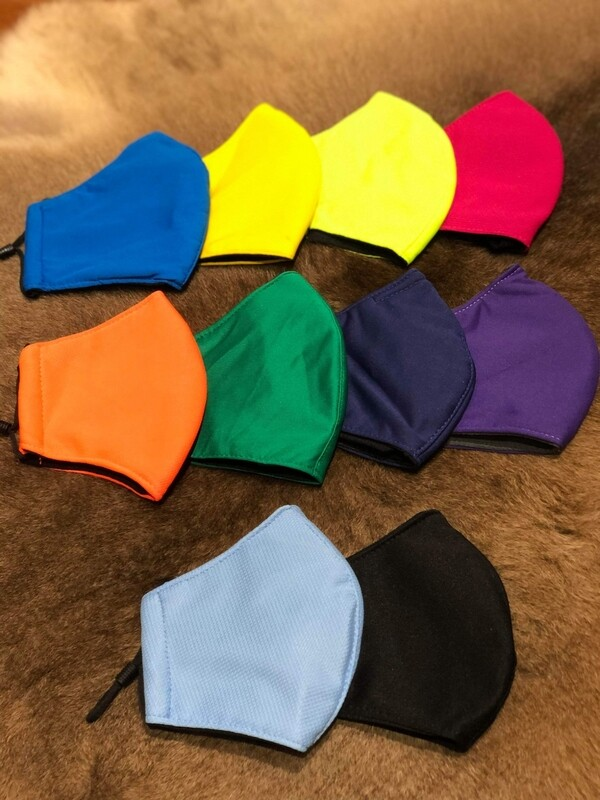 Wholesale Anti Virus cotton face mask with hole and filter pocket