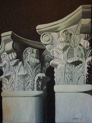 Two Corinthian Pillars