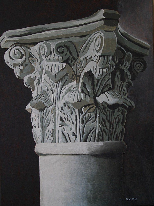 One Corinthian Pillar