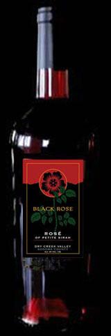 2016 Black Rose Rose' of Petite Sirah 6 Bottles