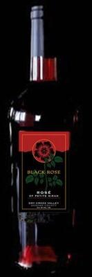 2017 Black Rose Rose' of Petite Sirah 6 Bottles
