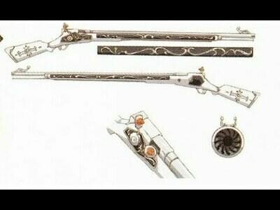 3d printed mami tomoe rifle Madoka Magica