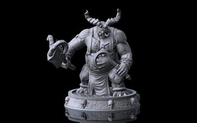 Diablo Butcher Figure