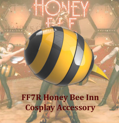 Final Fantasy 7 Remake Honey Bee Inn Honey Girl Cosplay Butt Abdomen Stinger / Murder Hornet Cosplay ff7R