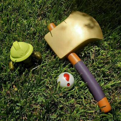 3D Printed Animal Crossing: New Horizons Axe Cosplay Prop