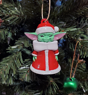 Star Wars Baby Yoda Christmas Ornament from The Mandalorian Grogu