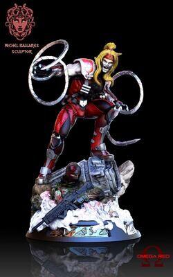 X-men Omega Red Figure