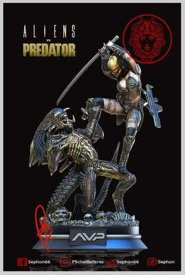 Alien VS Predator Machiko Noguchi Figure