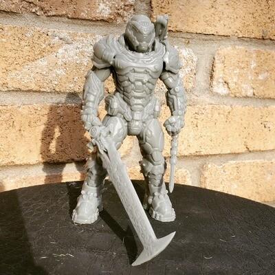 DOOM Doom guy figure