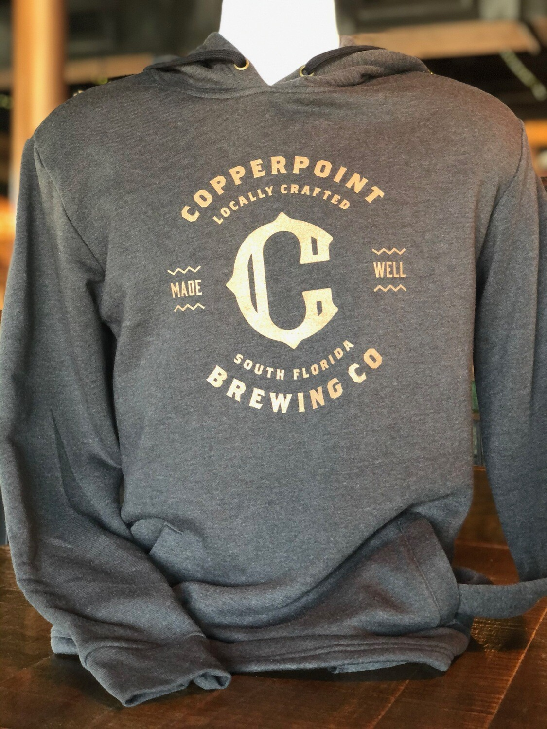 Copperpoint Unisex Pullover Hoodie (Black)