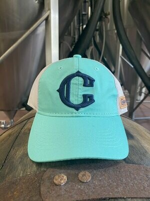 Teal Copperpoint Hat
