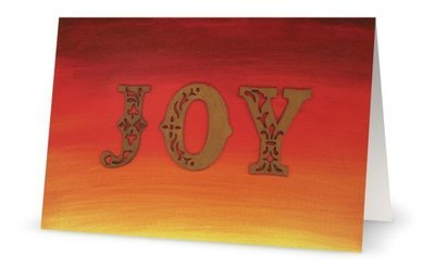 "Christmas Cards: ""JOY"" (10/pack)"