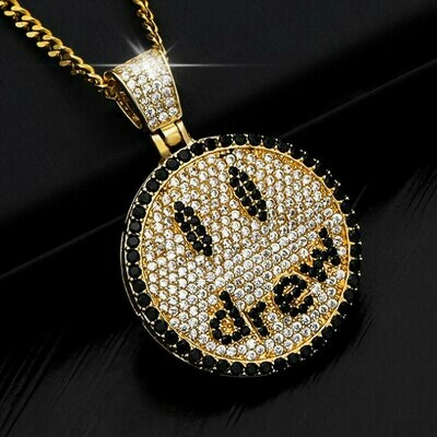 Drew House Gold Bling Pendant