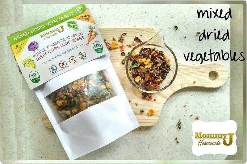 Mixed Dried Vetegables / Travel Friendly