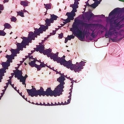 Grannie Square Blanket