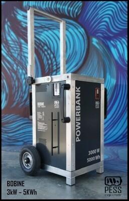 Power Bank Bobine 3000W  5000Wh