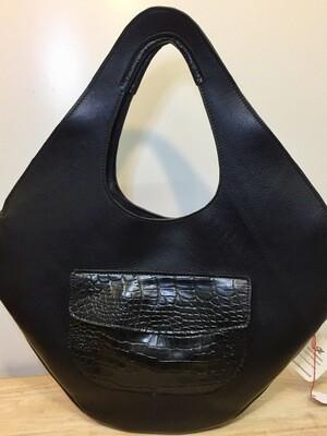 Karon sac cuir Français XL pour Femme, porté épaule ou main modèle unique dans ce coloris