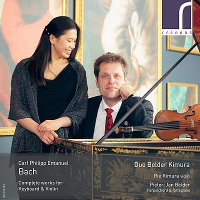 C.P.E. Bach - Complete works for violin & clavier