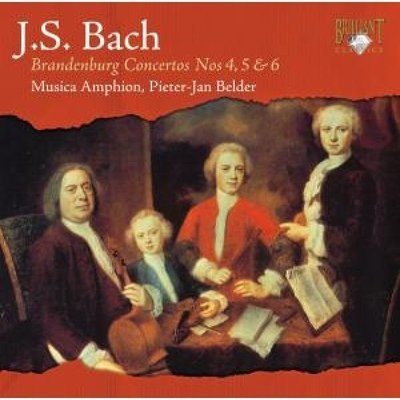 J.S. Bach - Brandenburg Concertos 4-6